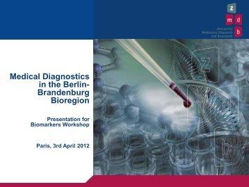 BioTop Berlin presentation, Wolfgang Korek, Manager ... - Medicen