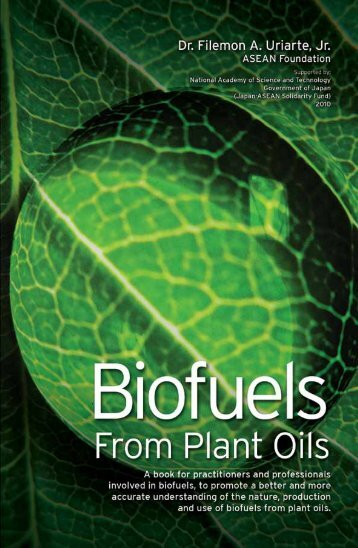 Biofuels from Plant Oils - ASEAN Foundation