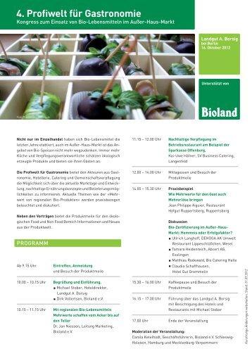 Profiwelt für Gastronomie am 16. Oktober 2012