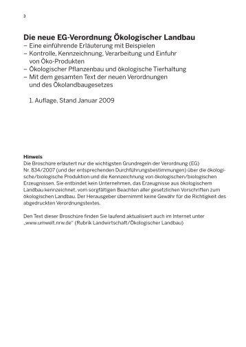 (EG) Nr. 889/2008 vor? - Rechtsanwalt Hanspeter Schmidt