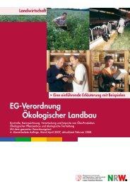 EG-Verordnung Ökologischer Landbau - Ministerium für ...