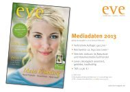 Mediadaten eve 2013