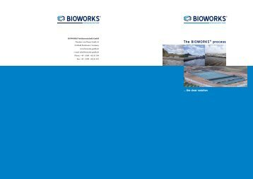Efficient and economic waste water treatment - bioworks-gmbh.de
