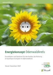 Energiekonzept Odenwaldkreis - Brenergo