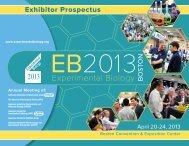 Exhibitor Prospectus - Experimental Biology