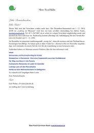 Newsletter Dezember 2010 - Domschnecken.de