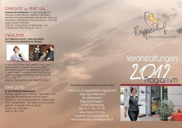 Veranstaltungskalender - Rappenhof