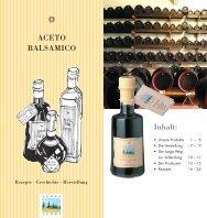 Brochüre Aceto Balsamico (PDF) - biowein.ch