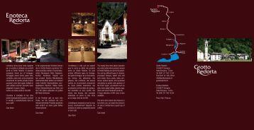 redorta prospetto - Grotto Redorta