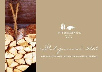 Wiedemann's Hotelprospekt