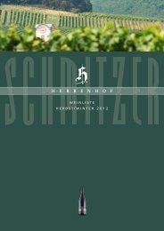 weinliste herbst/winter 2012 - Weingut Herrenhof