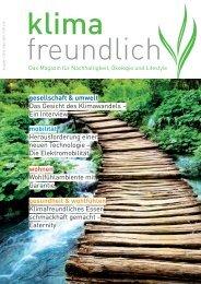 gesellschaft & umwelt - Klimafreundlich Magazin