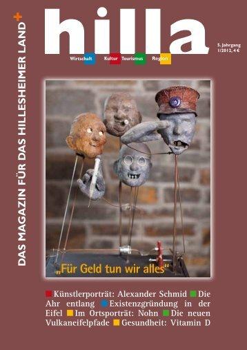 Kunst mit Köpfchen! - Hilla Magazin