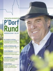PERCHTOLDSDORFER RUNDSCHAU 10/07 Bebauungsplan und ...