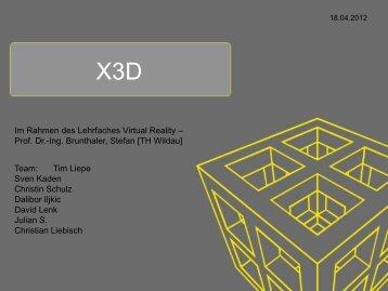 X3D von TM11 - Technische Hochschule Wildau