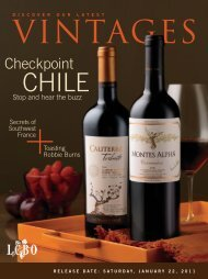 January 22 - Vintages