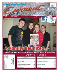WHAT'S INSIDE - Current News Magazine