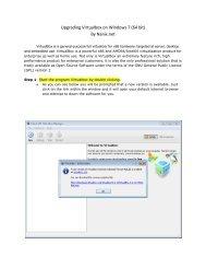 Upgrading Virtualbox on Windows 7 (64 bit) By Nanix ... - Nanix dot net
