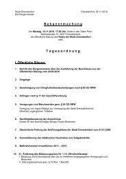 Tagesordnung - Drensteinfurt