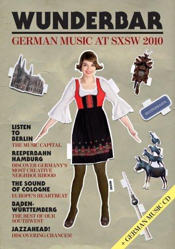 GerMan Music aT sXsw 2010 - Initiative Musik