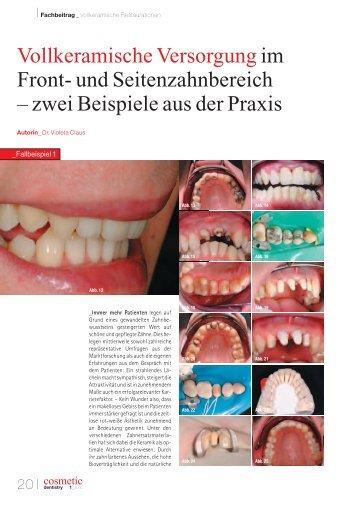 IFachbeitrag - Dr Violeta Claus