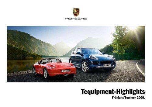 Tequipment Früjahr/Sommer 2009 als PDF-Dokument ... - Porsche