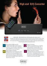 HD11 32 Bit high end audio DAC - VMAX Services