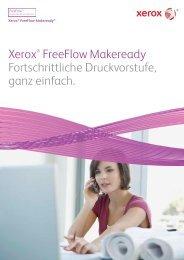 Leistungsstarke Funktionen der Druckvorstufe erleichtern ... - Xerox