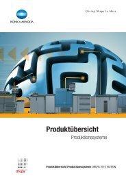 Produktübersicht Produktionssysteme - www3.konicaminolt...