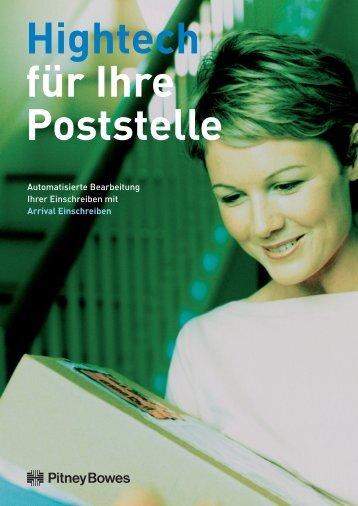 Arrival® Extended Edition Einschreiben - Pitney Bowes Deutschland ...