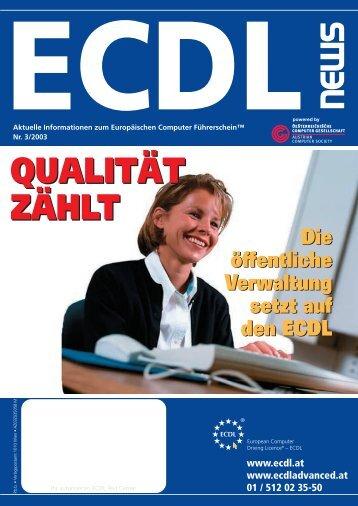 ECDL News