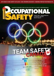 CANADA - Canadian Occupational Safety Magazine