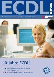 Comenius-EduMedia-Auszeichnungen 2007 - ECDL