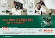 3,6 Volt - Bosch gør-det-selv