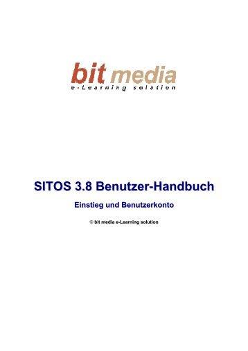 SITOS 3.8 Benutzer-Handbuch Einstieg und Benutzerkonto - bit