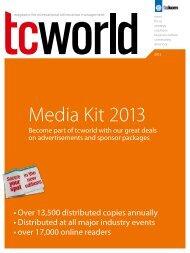 Media Kit 2013 - Tekom