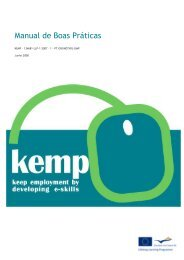 Manual de Boas Práticas KEMP - Sociedade Portuguesa de Inovação