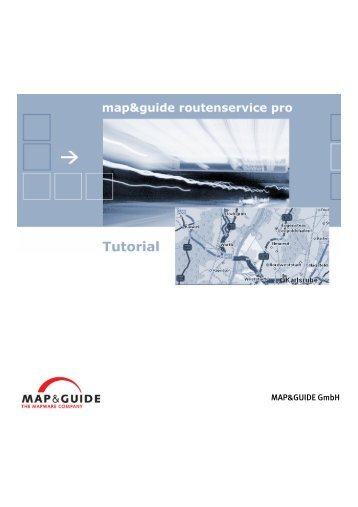MAP&GUIDE GmbH - PTV Map&Guide