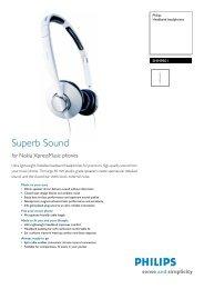 SHH9501/00 PHILIPS Headband headphones