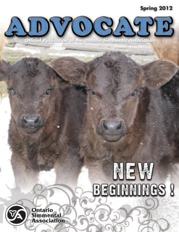 Advocate - Ontario Simmental Association
