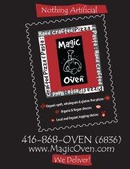 Vegan Pizzas - Magic Oven