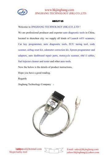 vag km immo tool user manual.pdf - Jinghang Technology (HK)