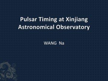 Pulsar glitches detected at Urumqi Observatory