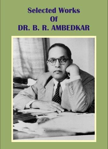 selected-work-of-dr-b-r-ambedkar