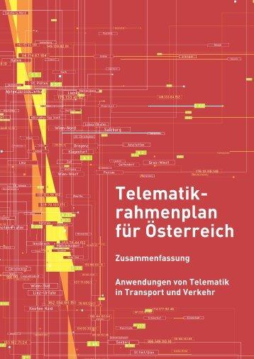 Telematik- rahmenplan für Österreich - ITS World Congress
