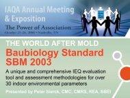 Baubiology Standard SBM 2003