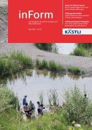 Das Magazin für unsere Kunden und Mitarbeitenden ... - Kästli Gruppe