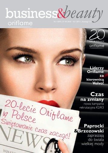 20-lecie Oriflame w Polsce