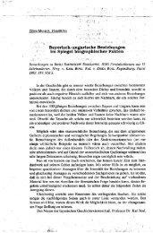 Bayerisch-ungarische Beziehungen im Spiegel ... - EPA