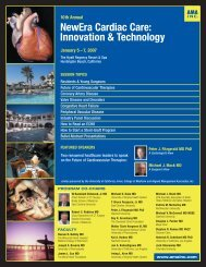 NewEra Cardiac Care: Innovation & Technology - Aligned ...